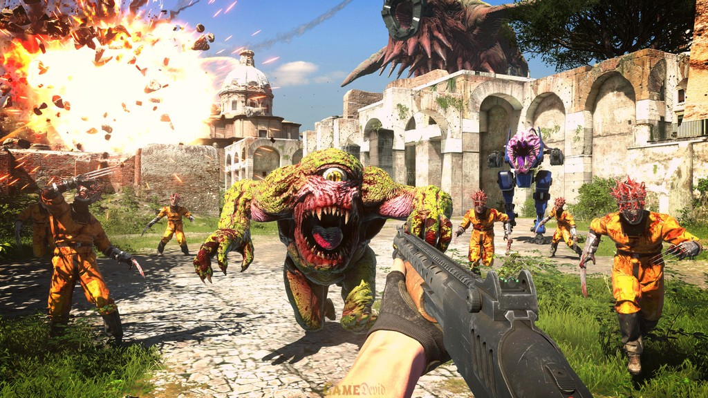 Serious Sam 4 PC Game Complete Latest Version Free Download Now