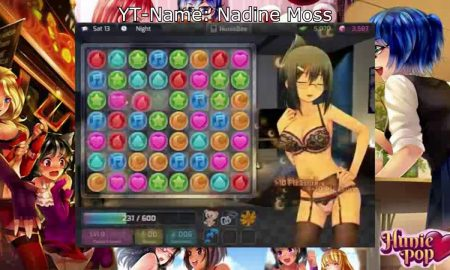HuniePop Official PC Game New Edition Download Here
