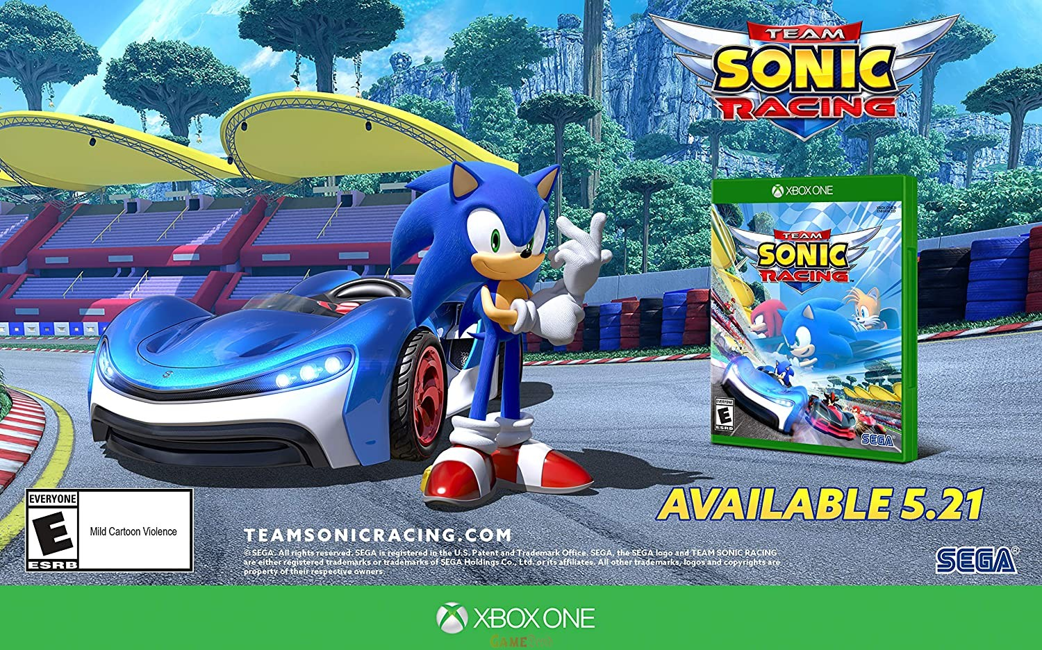 Team Sonic Racing XBOX Latest Version Download Now