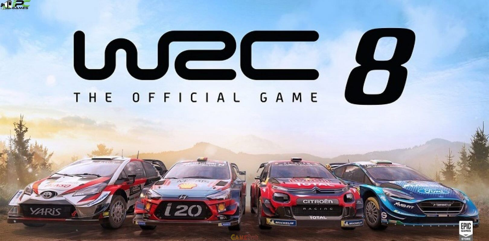 WRC 8 Mobile Android Game APK Full Download