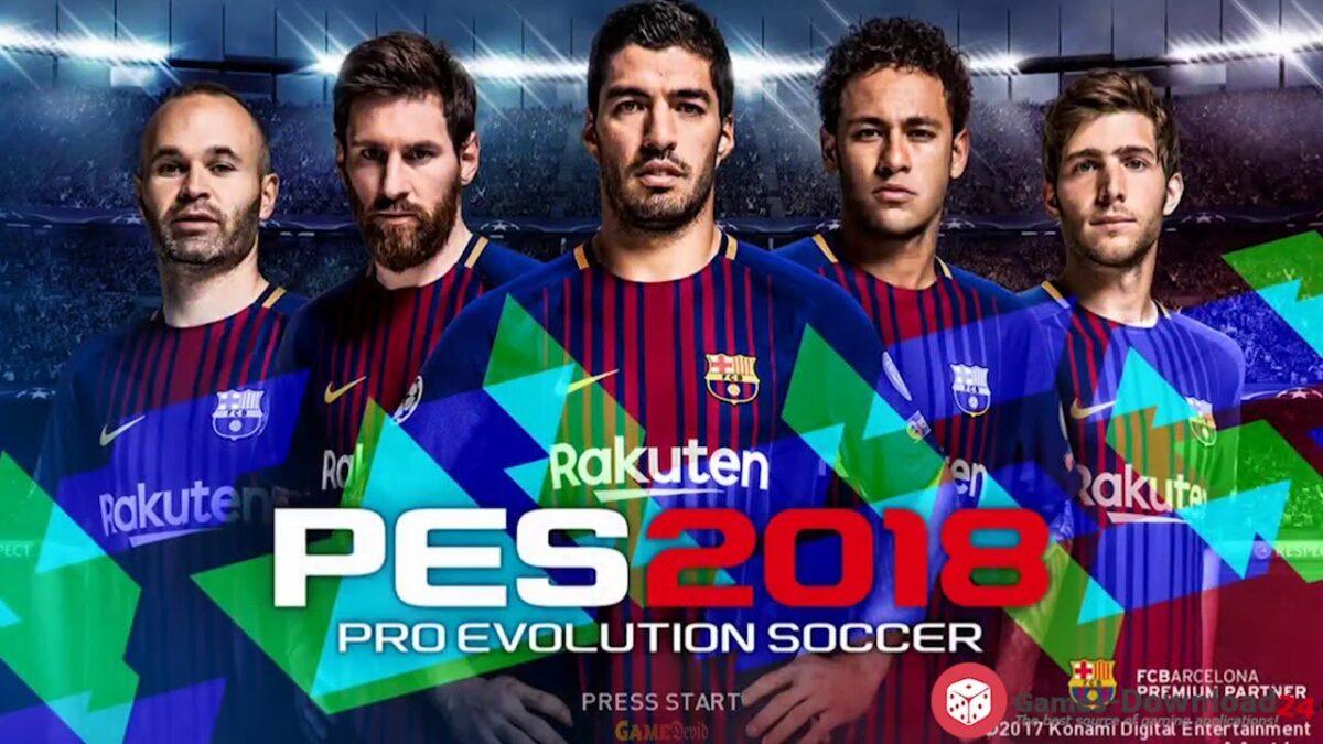 Pro Evolution Soccer / PES 2018 Official PC Game Cracked Version