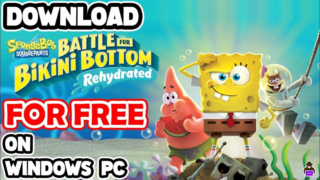 SpongeBob SquarePants: Battle for Bikini Bottom-Rehydrated Official PC Game Download Now