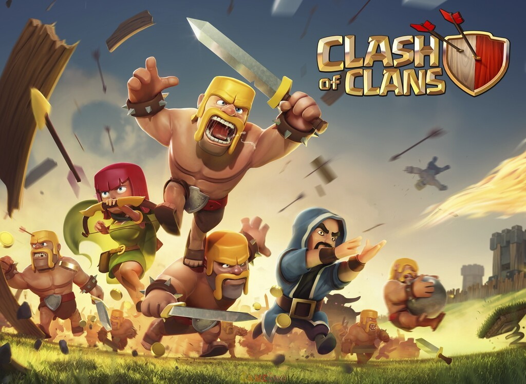 Clash of Clans iOS Game New Edition Download Here
