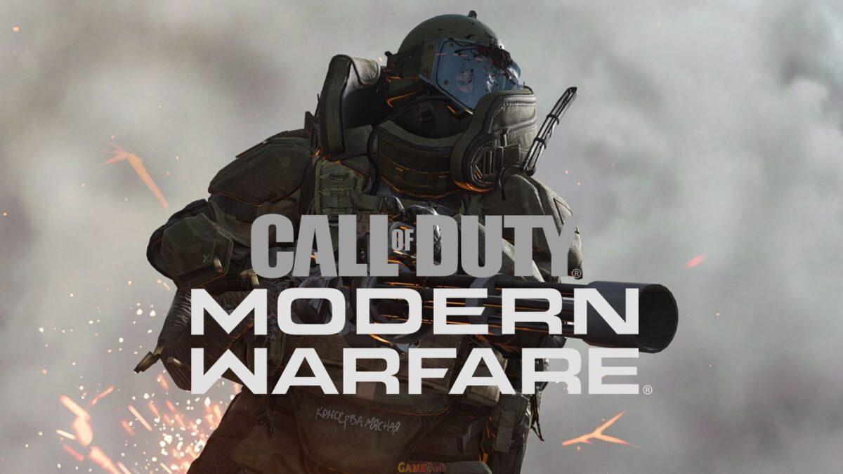 Call of Duty: Modern Warfare XBOX One Game Download 2020