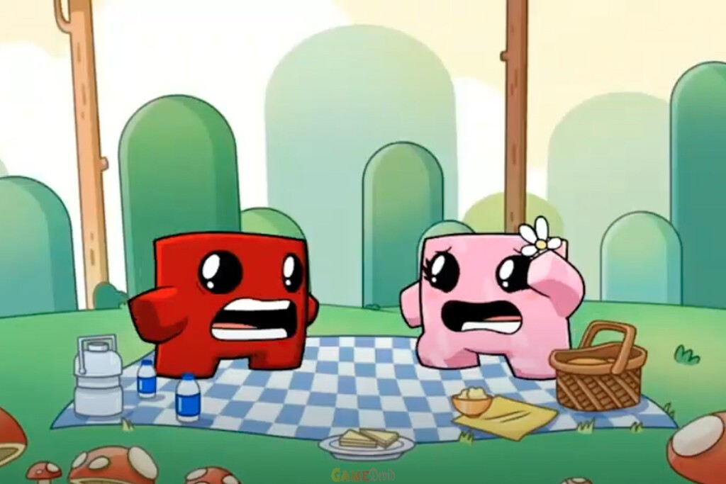 Super Meat Boy Forever Apple iOS GAME Download FREE