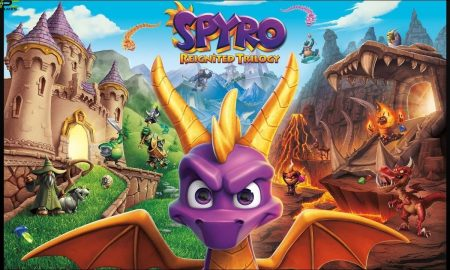 NINTENDO SWITCH GAME SPYRO REIGNITED TRILOGY NEW VERSION HERE