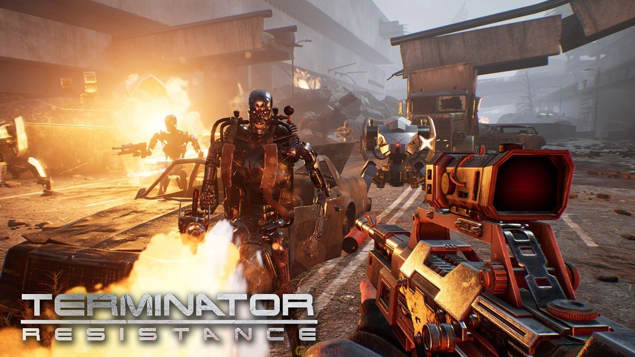 Terminator: Resistance Official PC Game Crack Version Download Here