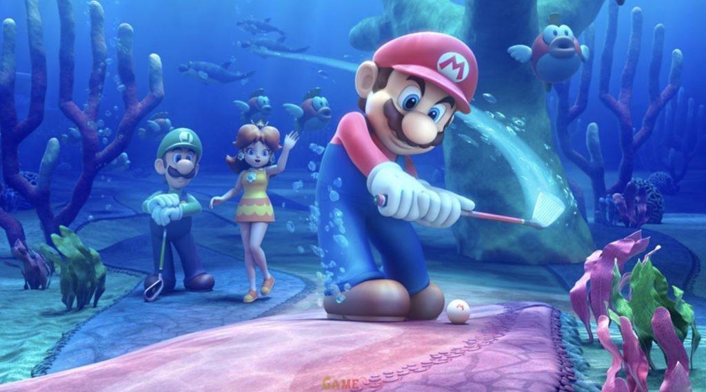 Download Mario Golf: Super Rush PS3 Game Torrent Full Setup