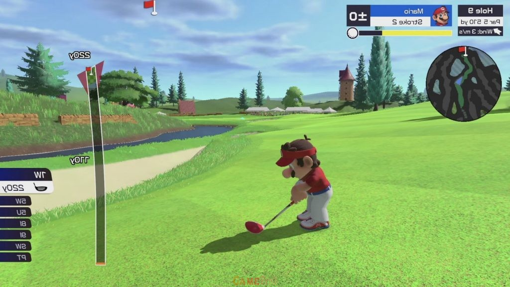 Mario Golf: Super Rush PS4 Complete Game Setup Fast Download