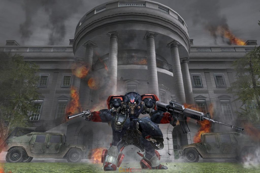 Metal Wolf Chaos XD PlayStation Game HD Version Download