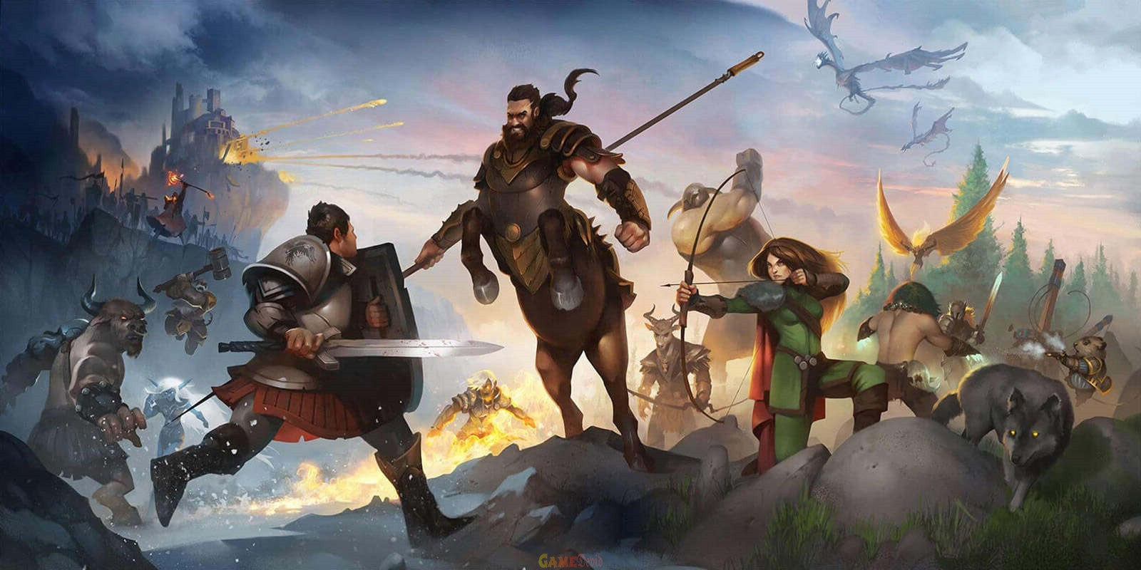 PvP MMO Crowfall Xbox One Game Free Download