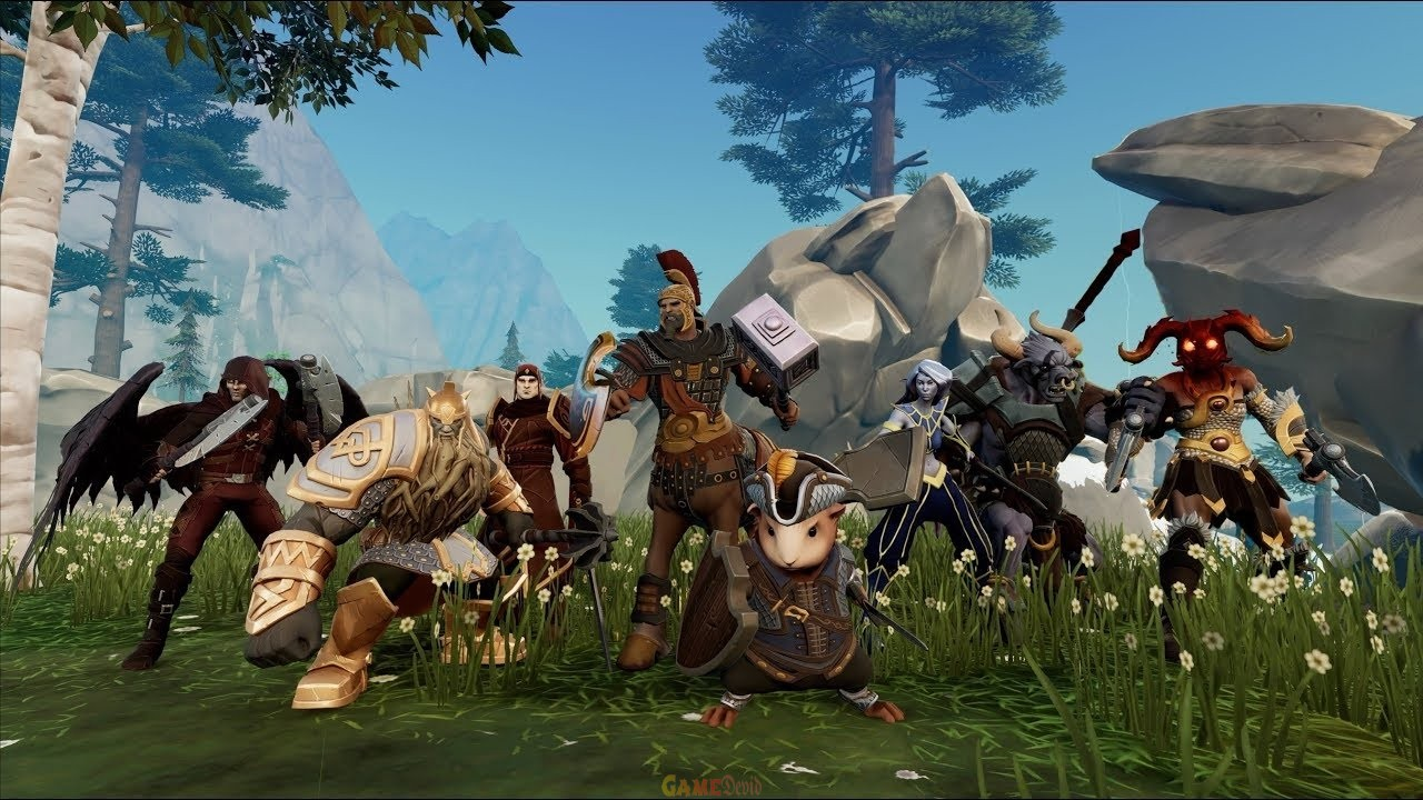 PvP MMO Crowfall Android Game Version Full Download